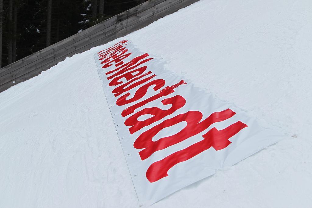 COC 2013 Schriftzug Titisee-Neustadt