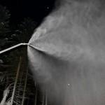 Beschneiung mit Wasser aus dem Weiher