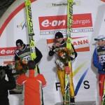 Siegerehrung WCS 2007 Schlierenzauer Malysz Vassiliev