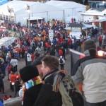 WCS 2007 Blick auf das VIP-Zelt und die Kommentatorenkabinen